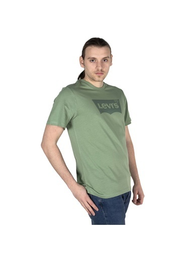 Levi's® Erkek Tişört Housemark Graphic 22489-0338 Yeşil